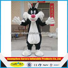 Factory direct sale fox mascot costume fur fancy dress costume