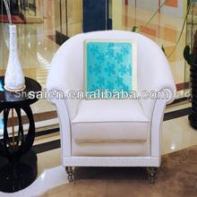 Hot sale pu ergonomic back thigh massage cushion