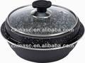 Alumínio estoque pedra pote de cerâmica tajine
