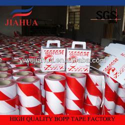 red company' logo printed bopp jumbo roll tape