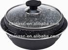Aluminum stone stock pot turkey fry pot