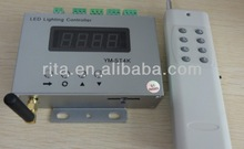 YM-ST4K-A;1024*4ports led SD card pixel controller;with RF remote controller(LED built software)