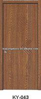 Nigeria/Africa interior flat PVC mdf wooden design door