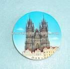 Polyresin Prague Fridge magnet resin Czech 3D fridge magnet