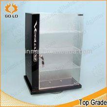 fashional poster display case,acrylic hexagon display box,yummy ice cream display show case