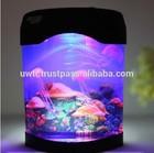 USB led jellyfish aquarium