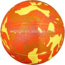 High quality bottom price rubber kids basketball