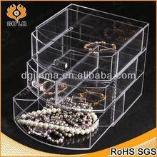 fashionable acrylic mobile phone display case,rotated display rack,acrylic basketball case