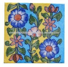 Traditional blue pottery Tile, Handicraft Pottery Tiles