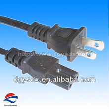 AC power cord with NEMA 1-15P with IEC C7