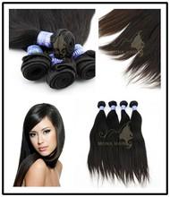 True Length High Quality Straight Hair Brazlian Virgin Hair Weaving
