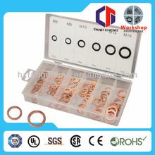copper sealing washer kit 150pc copper sealing washer