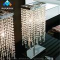 k9 cristal castiçais de ferro forjado