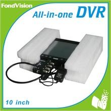 dual lens vehicle car camera dvr video recorder cheap 4ch dvr security