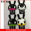 New Arrival Cute MATOKI Rabbit Cartoon Silicon Case for iphone 5 5S