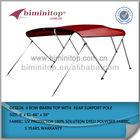 Meilleure qualité bateau ponton meubles, bimini tops pour les bateaux