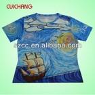 Led t-shirt&dubai wholesale t-shirt&plain white t-shirts cc-108