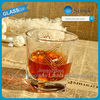 promotional shot glasses with ral gold print cheap shot glass wholesale whisky soju glass