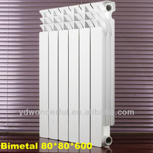 Italy Style hot water aluminum radiators made in China