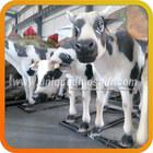 Animal Plastic Models Fiberglass Life Size Cow