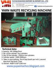 textile waste opener