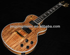 Spalted Maple Electric Guitar Very Beautiful Custom Electric Guitar OEM Electric Guitar