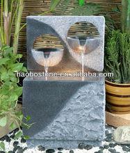 Unique Design Natural Stone Garden Water Fountain