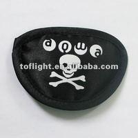Soft fabric pirate sleeping eye patch