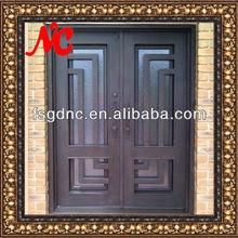 Wrought Iron Double Security Screen Doors