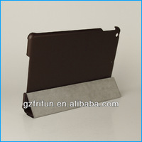 nut-brown leather case cover for ipad air made in china