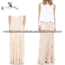 2014 Trendy Lady's Skirt Front Opening Elegant Fashion Maxi Skirts