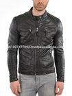 $79 Leather Jacket Mens Leather Jacket for Mens Biker Jacket #603