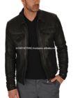 $79 Leather Jacket Mens Leather Jacket for Mens Biker Jacket Biker Coat #603