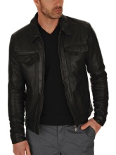 $79 Leather Jacket Mens Leather Jacket for Mens Biker Jacket Biker Coat #603
