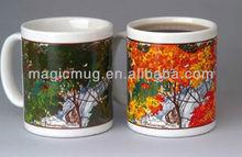 NIB Wondermugs Color Changing Coffee Mug Season's Magic