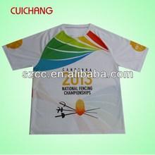 Polyester tshirts plain&fashion tshirt&man tshirt cc-163