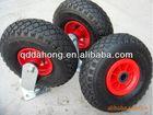 pneumatic rubber caster wheels