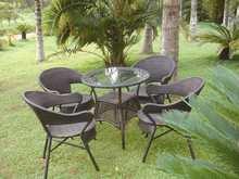 Outdoor wicker furniture/garden wicker furniture/wicker garden chair set