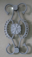 Different kinds of aluminum die casting flowers for main gate & fence
