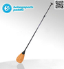 Popular lightweight wholesale Bamboo paddle board bamboo paddle
