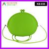 Big Pochi Wallet Silicone Oval Bag Handbag for Girls youth