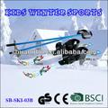Skis plastique pour enfants débutants agrément UE