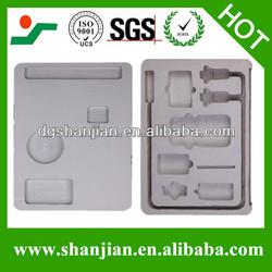 White color eva foam inner tray,die cut EVA foam
