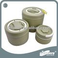 Daydays de tres piezas juego de acero inoxidable caja de almuerzo del calientaplatos contenedor de alimentos tarro de almacenamiento de China fabricante