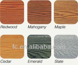 Wood Grain Fiber Cement siding,max long 3600mm