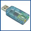 USB 2.0 Virtual 5.1 Channel 3D Sound Card