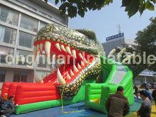 giant inflatable monster slide