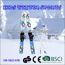 Shuangbo Snow Mini Ski Doo with Poles