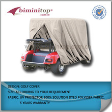 Drivable golf cart covers