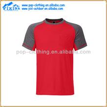 2012 latest slim fit o neck plain cotton t shirts for men